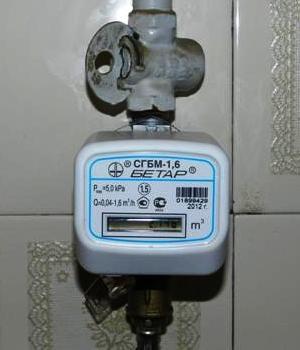Счетчик газа в квартире